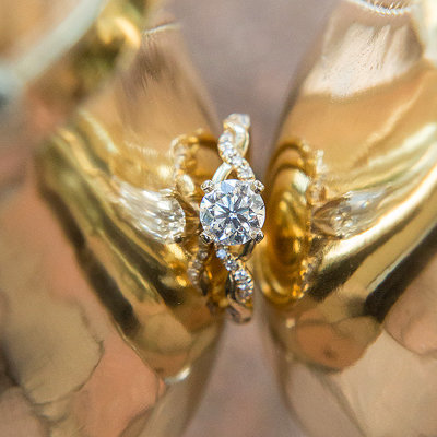 wedding photographer - rings and shoes