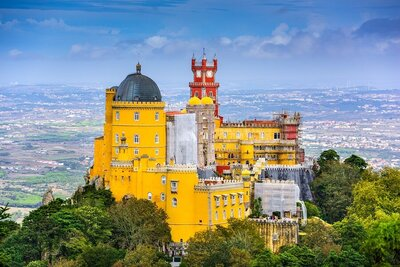 Palace of Pena Sintra Portugal