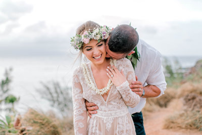 Maui adventure wedding in North West Maui