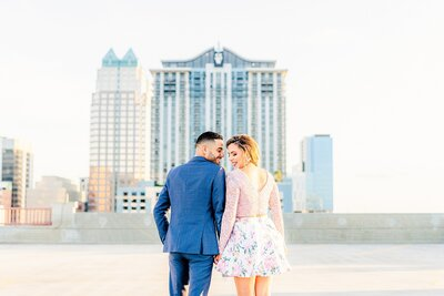 Downtown Orlando Engagement | Orlando Wedding Photographer-20