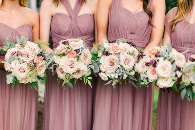 Eastlynn Farm Wedding bridesmaids
