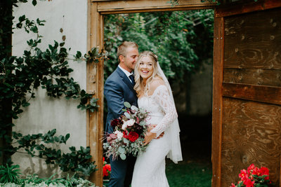 Emmily + Jake Garden Wedding | Tin Sparrow Events + Alex Lasota Photography