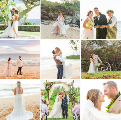 maui wedding planner instagram feed