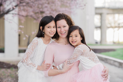 three-beautiful-smiles-columbia-md-cherry-blossom-photos