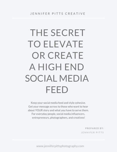 The Secret to Elevate a High End Social Media Feed Cover Image