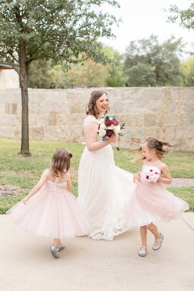 Houston Wedding Photography flower girls