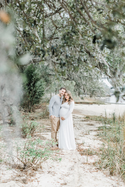 Charleston Maternity Photographer - Daniel Island Maternity Session