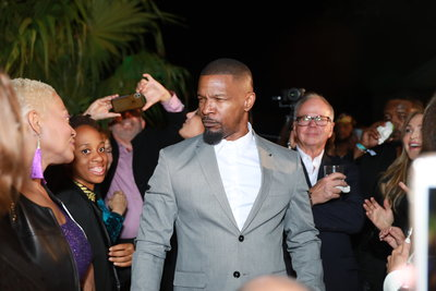Jamie Foxx Celebrity Event Photographer - Miami Give Back Fund