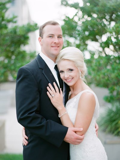 Elegant Summer Wedding at Alley Station in Montgomery Alabama