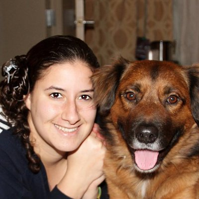 Emily and Bear