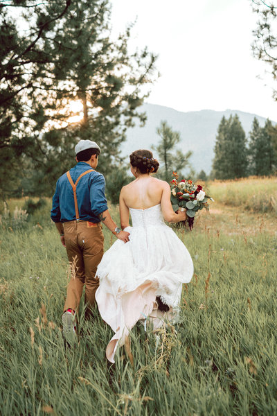 Missoula Montana wedding