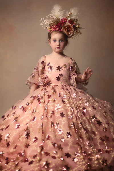Fine Art-Toddler-Couture Gown-DFW