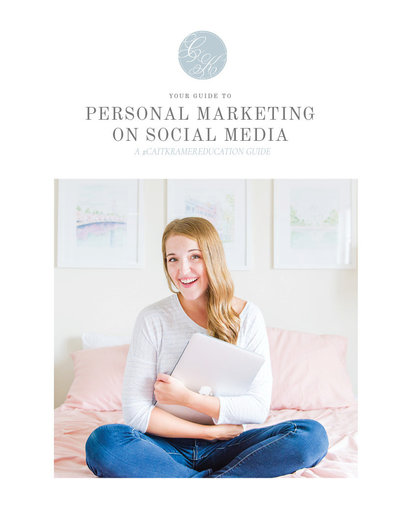 Personal Marketing Guide Cover