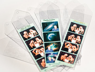 Photo booth bookmarks