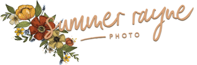 Creative logo design for Vancouver wedding and boudoir photographer Summer Rayne Photo