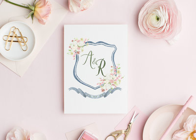 Watercolor-Wedding-Crest-AR-The-Welcoming-District
