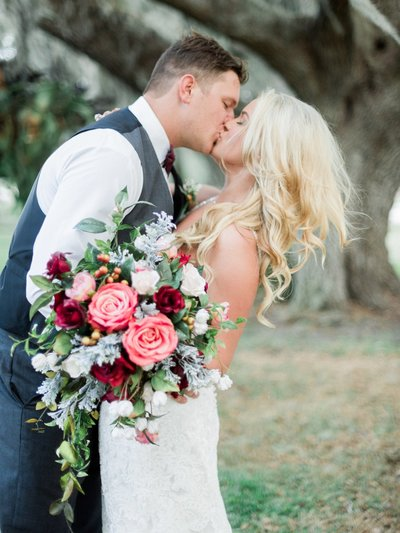 Okeechobee Wedding Photographer - Maroon Fall Wedding Inspiration - Fall Wedding Ideas - Tiffany Danielle Photography (11)