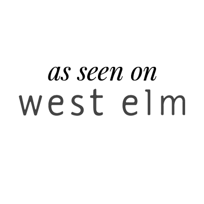 featured on west elm