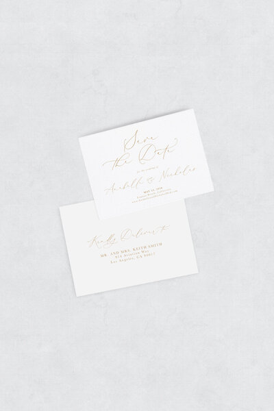 pirouettepaper.com | Wedding Stationery, Signage and Invitations | Pirouette Paper Company | Semi Custom Invitations | The Sienna 13