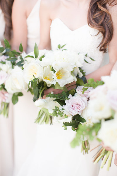 Blush Omni Montelucia Wedding Bridal Bouquets | Amy & Jordan Photography