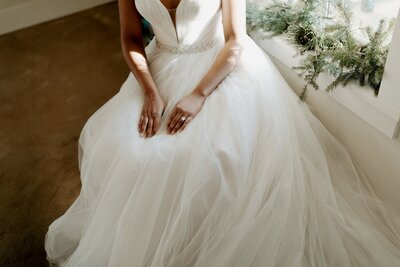 Bridal gown feature