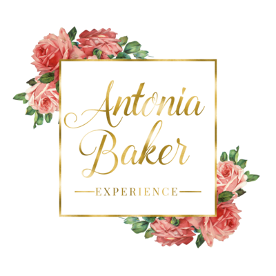 Antonia Baker Experience Logo Title- Square Frame