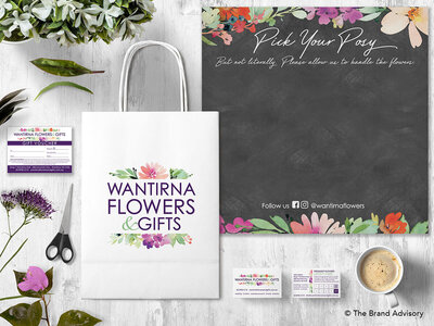 Wantirna Flowers Branding by The Brand Advisory