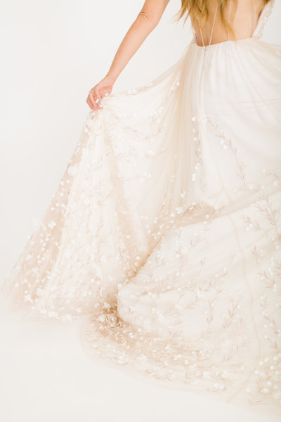 The Engagement Company Wedding Dress