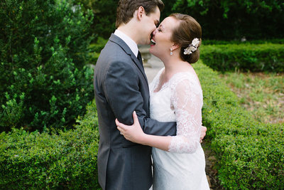 Romantic Lace House Garden Wedding in Columbia SC