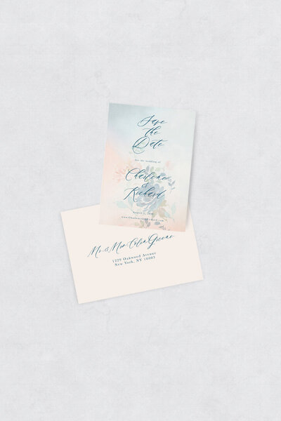 pirouettepaper.com | Wedding Stationery, Signage and Invitations | Pirouette Paper Company | Semi Custom Invitations | The Fleur 12