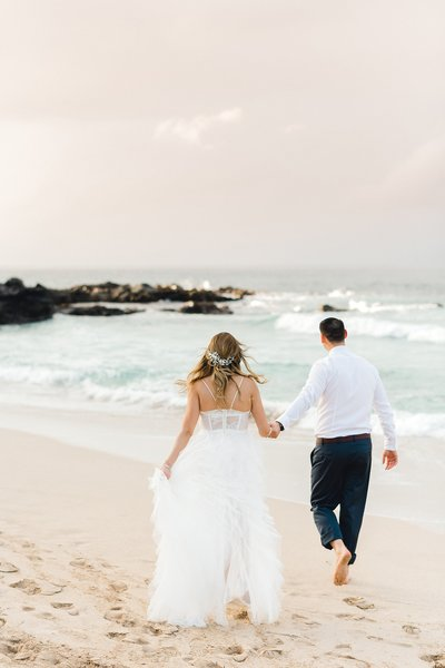Maui Wedding Photography: Couples Photography on the beach in Hawaii.