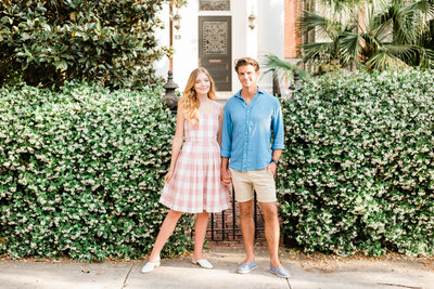 charleston engagement session