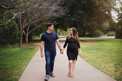 sspd couple freedom park charlotte maternity photographer