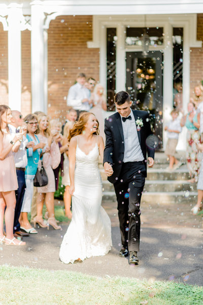 Warrenwood Manor - Kentucky Wedding Venue - Bubble Sendoff