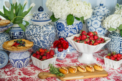 July 4th Party Tablescape
