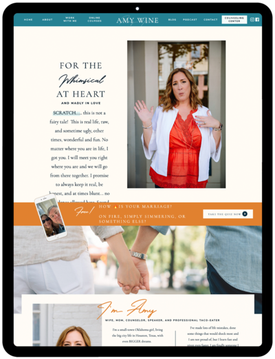 Amy-Wine-Showit-Template