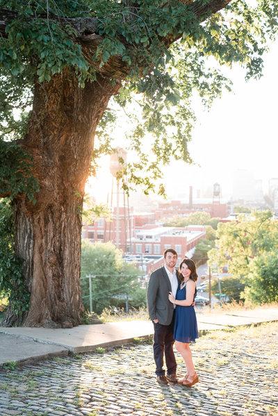 Katy-and-Zach-Libby-Hill-Richmond-Engagemnt-Photos-Melissa-Desjardins-Photography-2