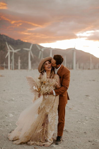 Palm Springs Wedding + Elopement | Tori + Dan | Alison Faith Photography-1862