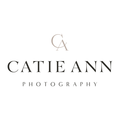 logo for catie ann photography