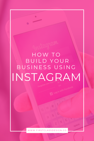 how to build a business on instagram