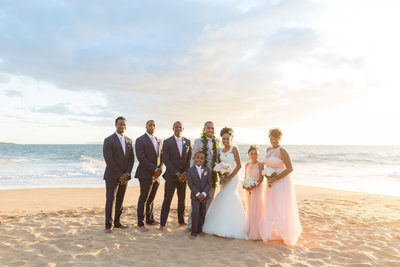 Maui beach wedding package 4