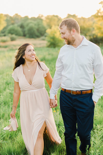 Minneapolis Light and Airy Engagement Photographer