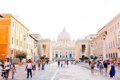 The Vatican in Rome by Katzie and Ben Photography