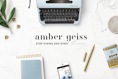 Handcrafting Heartfelt Brand & Website Designs for Female Creatives |  Showit | Showit Templates | by Viva la Violet | Amber Geiss