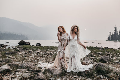 athena-and-camron-a-and-be-bridal-a&be-stylebook-x-seattle-wedding-aegen-white-rue-De-Seine-sunset