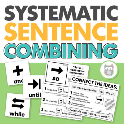 Systematic sentence combining for speech therapy