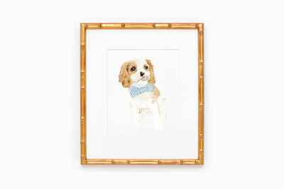 watercolor-pet-portrait-art-print-11x14-The-Welcoming-District