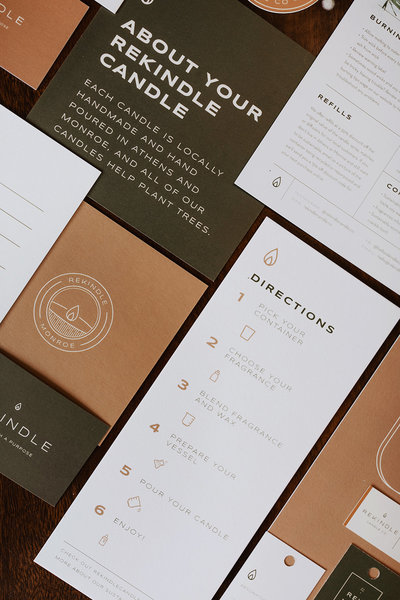 Full Collateral for Rekindle Candle Co
