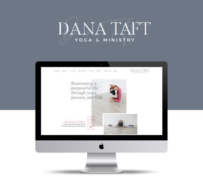 Dana Taft - Branding and Website Design by Elizabeth McCravy - Yoga Teacher Branding3