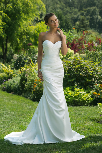 Justin Alexander Wedding Dress 2
